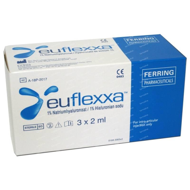 Euflexxa 3x2ml Vider Beauty Care